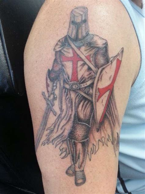 st george tattoos for men the gallery for gt st michael back