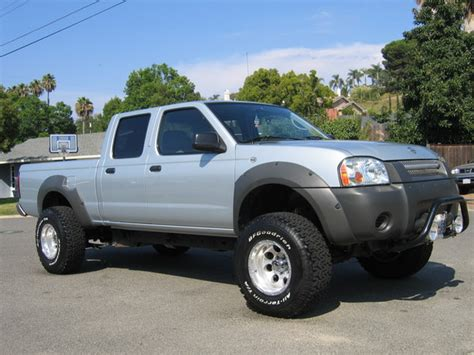 2002 nissan frontier lifted krsj10 2002 nissan frontier regular cab specs photos