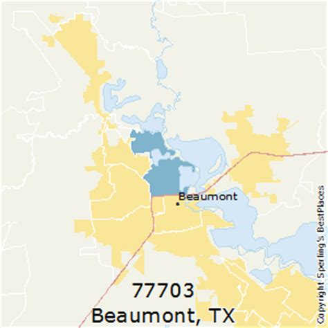 southeast texas zip code map best places to live in beaumont zip 77703 texas