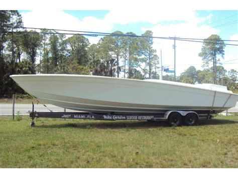 boat hull for sale florida cigarette racing hull and deck powerboat for sale in florida