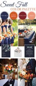 fall wedding colors sweet fall wedding color palette linentablecloth