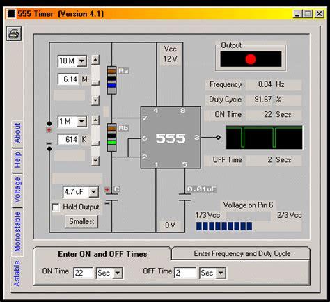 timer design software