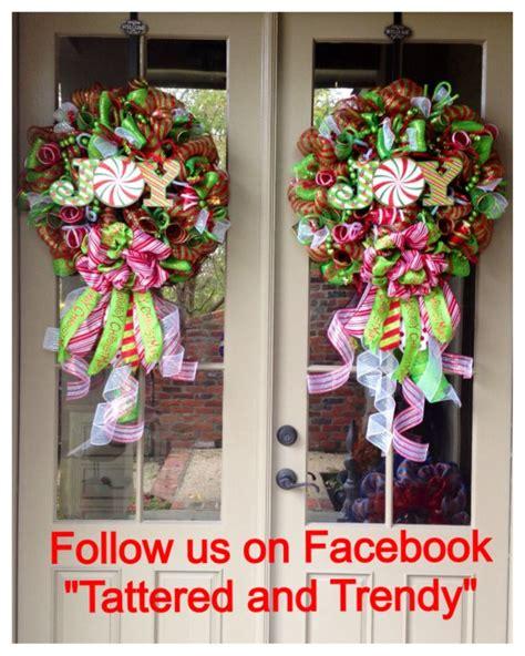 decorative mesh for doors christmas deco mesh wreath wreaths for double doors pair