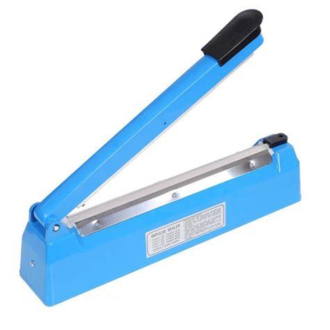 Impulse Sealer 30cm 12 quot impulse heat poly bag sealer plastic closer machine teflon sealing 30cm wrap in packaging
