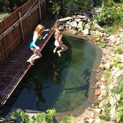 24 Backyard Natural Pools You Want To Have Them Diy Backyard Pool