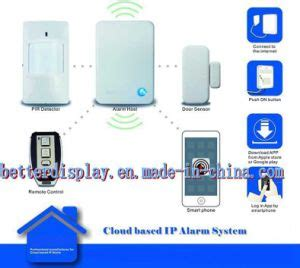 china wireless cloud based ip home security burglary alarm