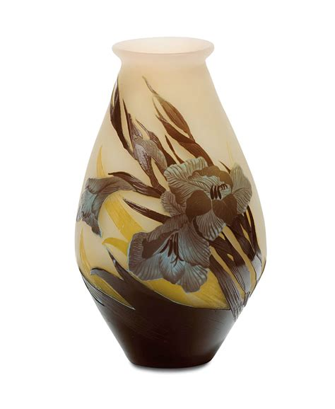 vasi galle emile gall 233 1846 1904 nancy vaso in vetro