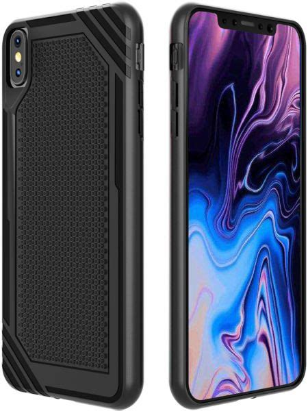 iphone xs max choetech 6 5 inch slim fit tpu back cover with drop protection and