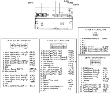 toyota 58816 unit pinout diagram pinoutguide