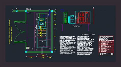 substation  dwg detail  autocad designs cad
