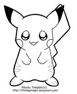 pikachu template house coloring pages