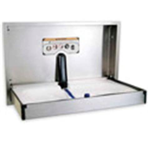 Freezer Ukuran Sedang stainless steel baby changing station foto