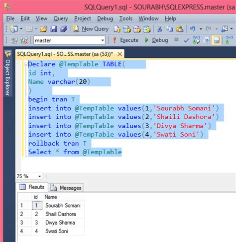 T Sql Table Variable by Sql Table Variable Images