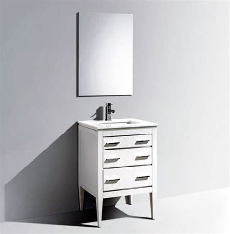 Bathroom Vanities Sydney Sydney 24 Quot White Bathroom Vanity Et6284wh