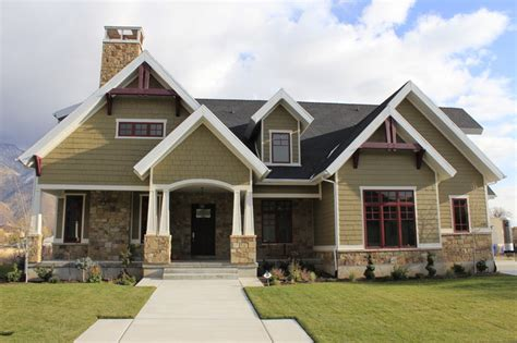 home exterior design with stone front exterior craftsman exterior salt lake city
