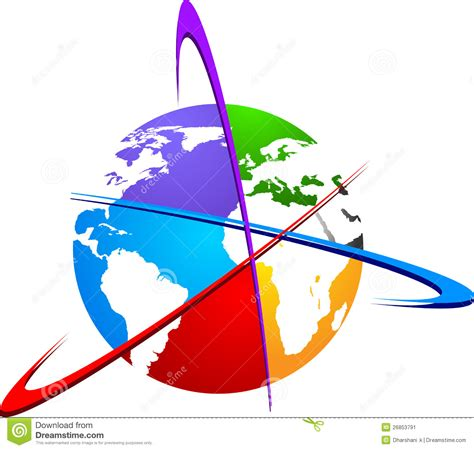 3d Plan by World Logo Stock Image Image 26853791