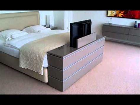 bett mit tv lift tv lift meubel aan voeteneinde bed