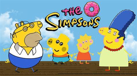 imagenes de la familia los simpson peppa pig los simpson videos de peppa pig y la familia