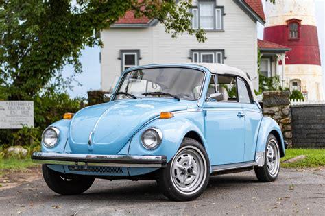 mile  volkswagen beetle convertible  sale  bat auctions closed  october