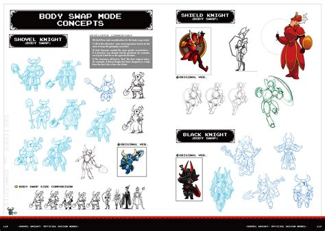 shovel knight official design shovel knight official design works yacht club games