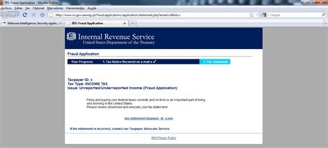 www irs govov malware intelligence blog 2010 04 a division of