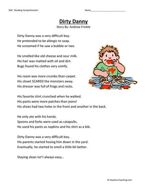 Second Grade Reading Comprehension Worksheets by Second Grade Reading Comprehension Worksheets Page 6 Of