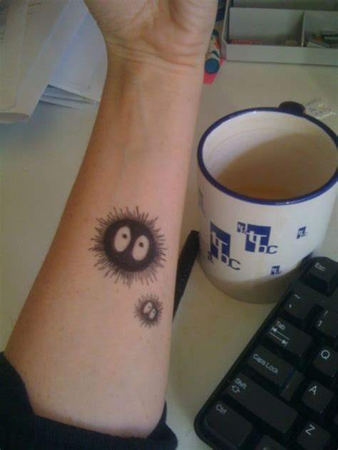 soot sprite tattoo soot sprite tiny