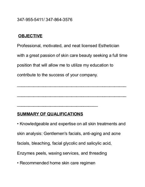 Makeup Artist Resume Objective by Makeup Artist Resume