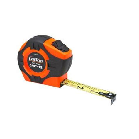 Home Depot Lufkin by Lufkin 3 4 In X 12 Ft Power Return Measure Read Pqr1312 The Home Depot