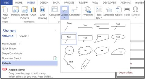 add stencils to visio 2010 adding configure callout functionality to visio callouts
