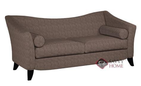 prague sofa quick ship prague fabric sofa in cassius mushroom by lazar