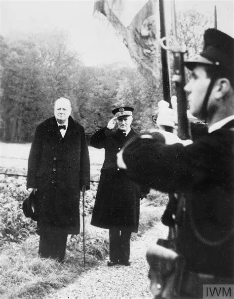 WINSTON CHURCHILL IN FRANCE IN 1939 | Imperial War Museums