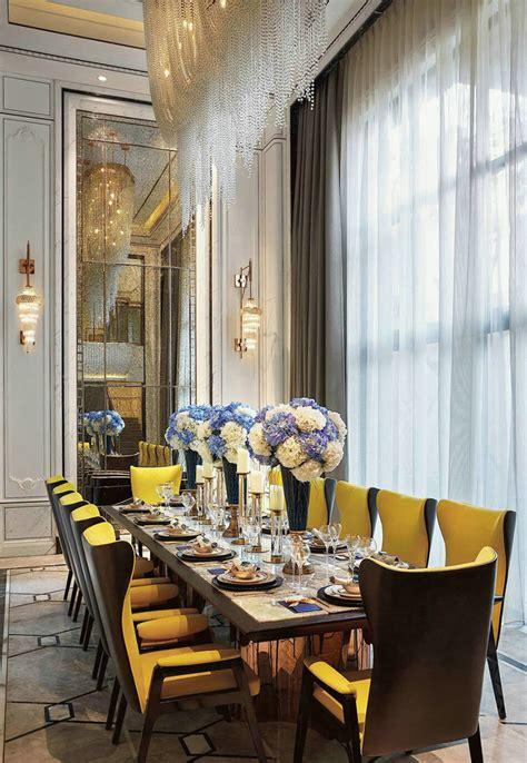 vanke villa  shenzhen victorian dining room