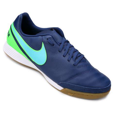 Sepatu Futsal Nike Tiempox Genio 2 Leather Ic Putih Hijau Original New chuteira futsal nike tiempo genio 2 leather ic masculina