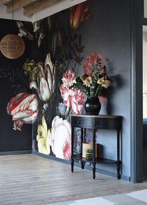 trending large wall art wallpaper hand painted murals