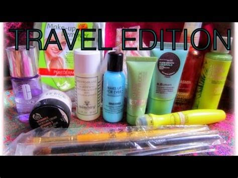 Tips From A Regular Makeup Bag by Airline Travel India How To Pack Makeup For Travel
