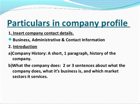 Ppt What Makes A Company - ppt of company profile in project