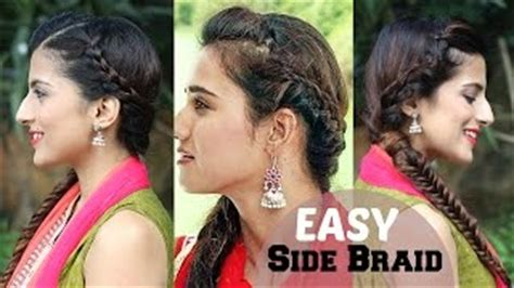 indian hairstyles for diwali watch easy french braid ponytail hairstyle for indian we