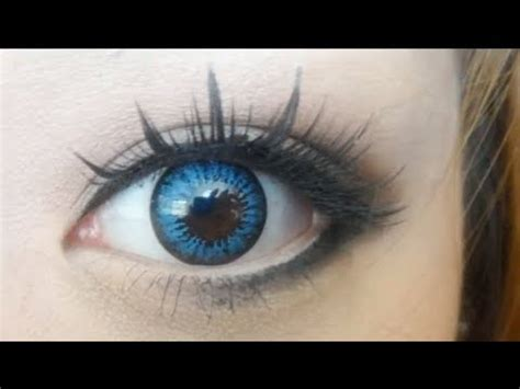 review: colourvue big eyes cool blue (15mm) youtube