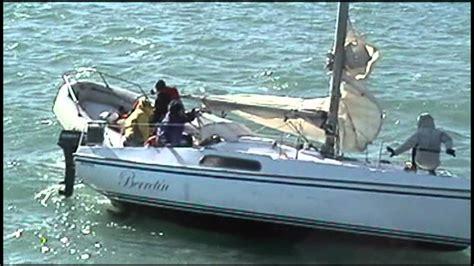 sailboat accident accidente de velero sailboat accident youtube
