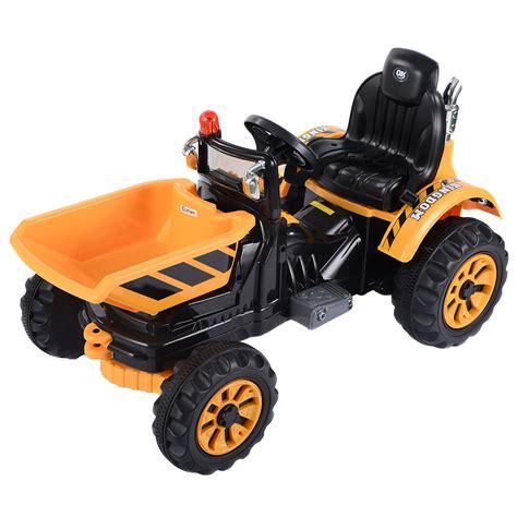 toddler ride on trucks 12v battery powered ride on tipper dumper truck with