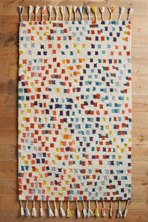 Anthropologie Kitchen Rug Multi Dotted Rug Anthropologie