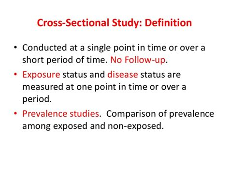 cross sectional data definition research and methodology 2