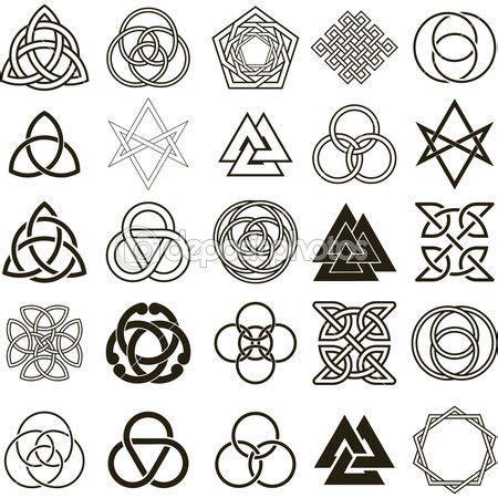 imagenes vectoriales flash conjunto de vectores de iconos de s 237 mbolos tatuaje dise 241 o