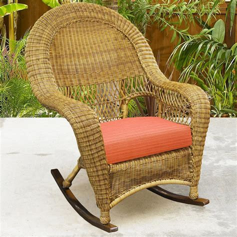 northcape international charleston high back wicker rocker olinde s furniture outdoor chairs