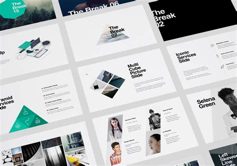 Kaspian Presentation Template Powerpoint Keynote On Behance Keynote Presentation Templates