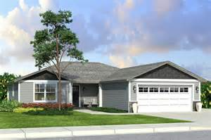 4 bedroom ranch style home plans new ranch style house plan a compact yet spacious 4