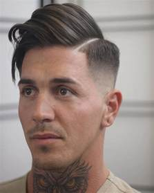 parting haircut side part hairstyles for men 2017