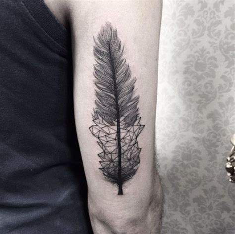 feather tattoo grey 40 perfect black and grey ink tattoos for men feather