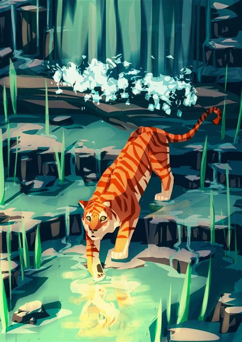 golden tiger  meowmeowmelody  deviantart